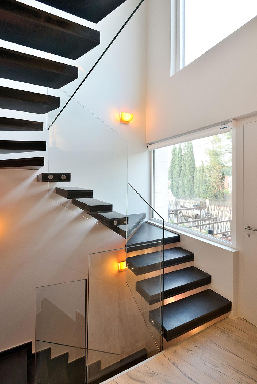 escalera de cristal cristalerias moreno